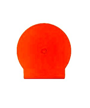 C-Shell Solid Orange - 50 pack