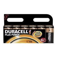 Duracell  C Alkaline Batteries - 6 Pack