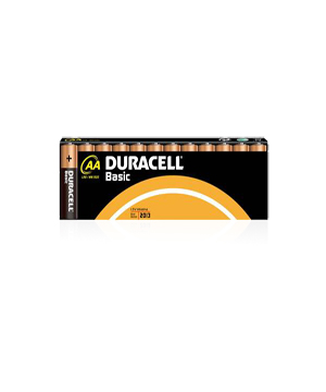 Duracell  AA Alkaline Basic Batteries - 12 Pack