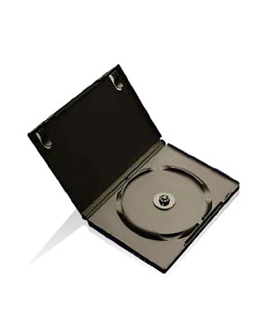 DVD Case - Black holds 1 Disc (14mm)