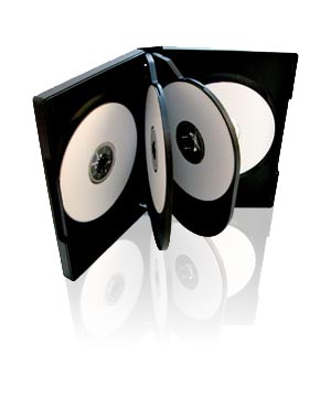 DVD Case - Holds 6 Discs