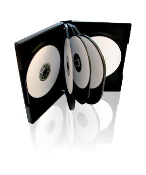 DVD Case - Holds 8 Discs