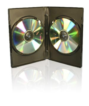 DVD Case - Holds 2 Discs