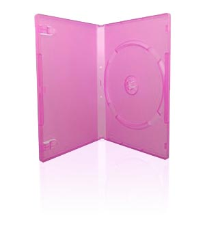 DVD Case - Pink (14mm)