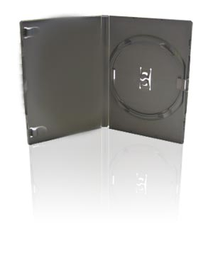 DVD Case - Amaray Premium - Single Grey