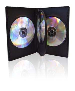 DVD Case - Holds 4 Discs