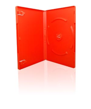 DVD Case - Red (14mm)