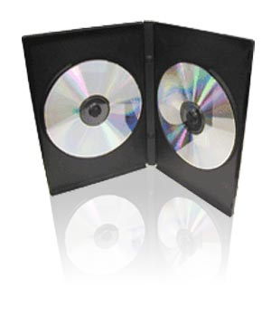 Slim DVD Case - Holds 2 Discs (7mm)