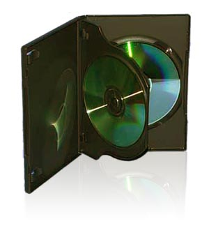 DVD Case - Holds 3 Discs
