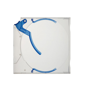 Blue Ejector CD/DVD Case - 10 Pack