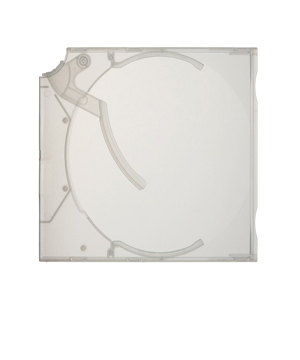Clear Ejector  CD/DVD Case - 10 Pack