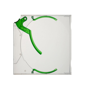 Green Ejector  CD/DVD Case - 10 pack