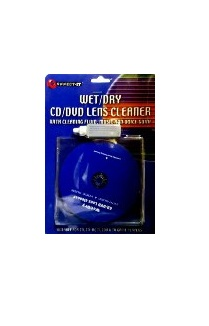 Wet/Dry - CD/DVD lens cleaner