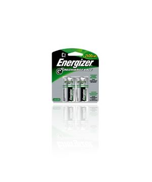 "Energizer Rechargeable ""C"" 2500mah NIMH Batteries"