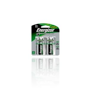 "Energizer Rechargeable ""D"" 2500mah NIMH Batteries"