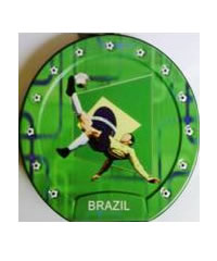 Football CD/DVD Carry Pouch Brazil