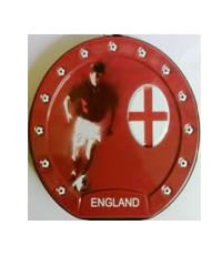 Football CD/DVD Carry Pouch England