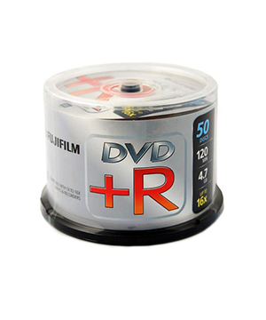 Fuji DVD+R (16x) 50 spindle