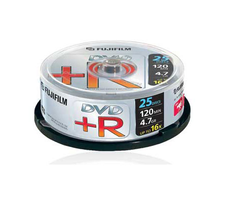 Fuji DVD+R (16x) 25 spindle