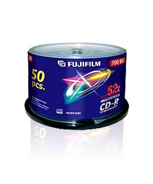 Fuji CD-R80 (52X)- 50 spindle