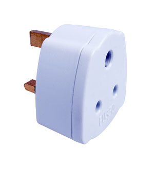 Travel Adaptor India to UK