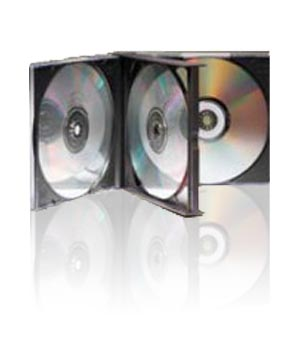 Jewel Case - for 4 Discs