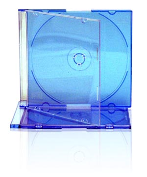 Jewel Case - Slim Blue