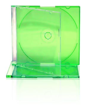 Jewel Case - Slim Green