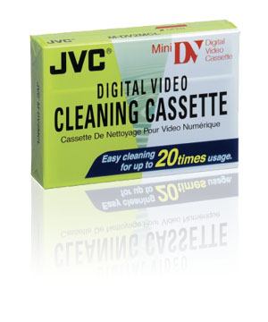 JVC Mini DV Cleaning Cassette