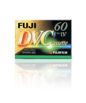 Fuji DVM 60 Mini Digital Video Tape