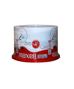 Maxell DVD-R (16x) - 50 spindle Full Printable