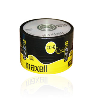 Maxell CD-R80 (52x) - 50 Shrink Wrap