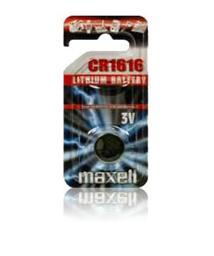 Maxell CR-1616 3v Micro Lithium Coin Cell Battery