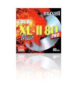 Maxell CD-R80 XLII Audio