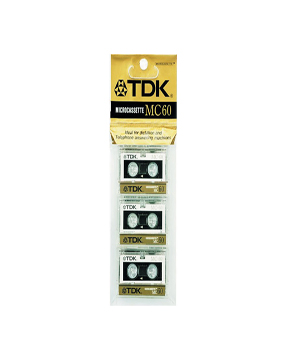 TDK MC60 (3 pack)