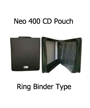 Neo CD/DVD Carry case Holds 400