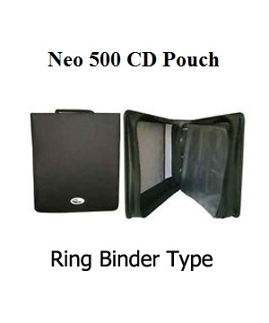 Neo CD/DVD Carry case Holds 500