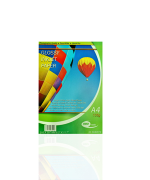 Neo Glossy Paper 135GSM Pack of 20