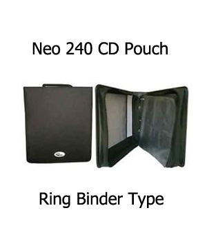 Neo CD/DVD Carry case Holds 240