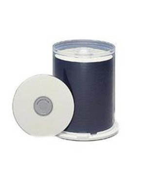 Taiyo Yuden CD-R80 (52x) Thermal White Printable -100 Shrink Wra