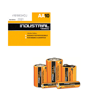 Duracell Procell Alkaline AA (Pack of 10)