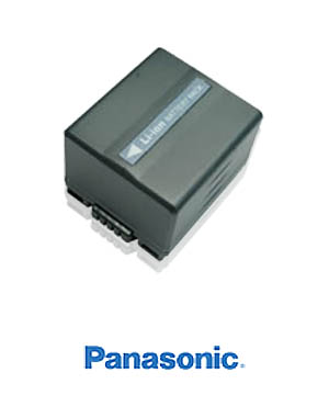 Panasonic CGR-S006E Li-ion Camcorder Battery