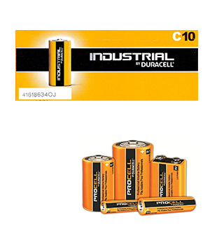 Duracell Procell Alkaline C (Box of 50)