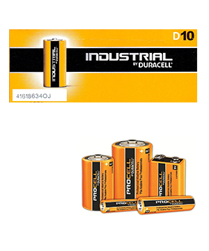 Duracell Procell Alkaline D (Box of 50)