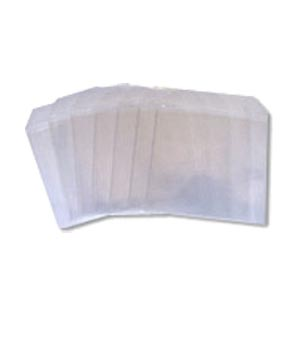 Disk Sleeves - Perspex clear - 100 Pack (100 Microns)