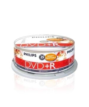 Philips DVD+R 8.5Gb Double Layer - 25 Spindle