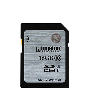 Kingston SD16GB Class 10 UHS-I SDHC