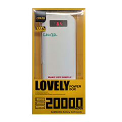 Power Bank 20000 Mah for iPhone & Android