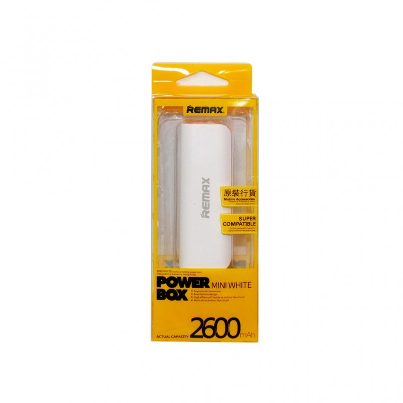 Power Bank 2600 Mah for iPhone & Android