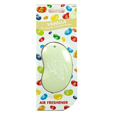 3D Jelly Belly Vanilla Car Air Freshner